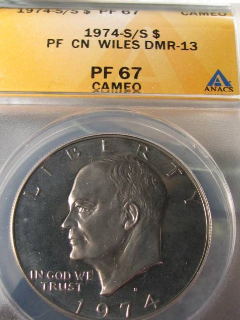 1974 S Proof Mint Marks | The Ike Group